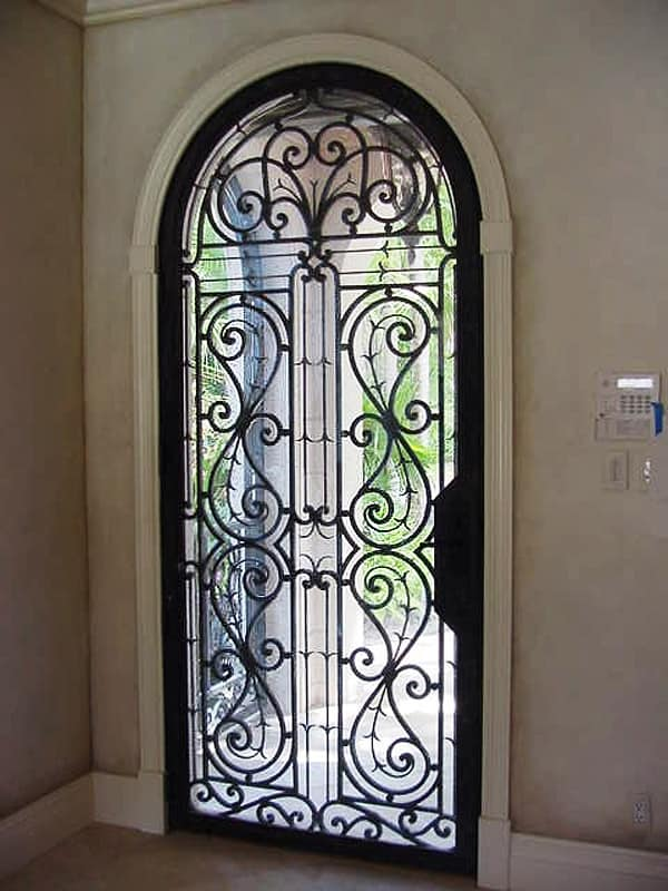 Entry Doors Continental Custom Iron