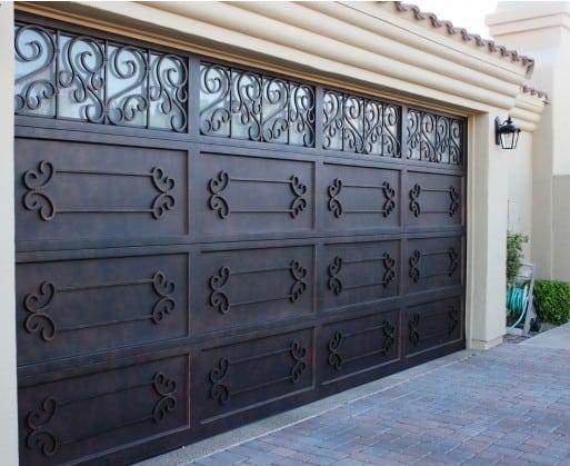 Iron Garage Door Designs
